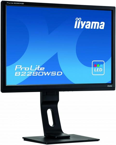 iiyama ProLite 22 Zoll Monitor (B2280WSD-B1)
