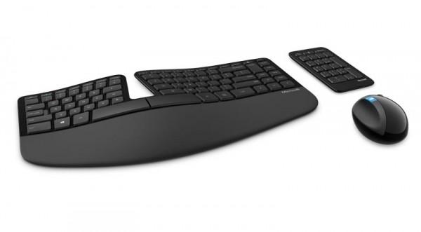 Microsoft Sculpt Ergonomisch toetsenbord en muis (MST-L5V-00021)