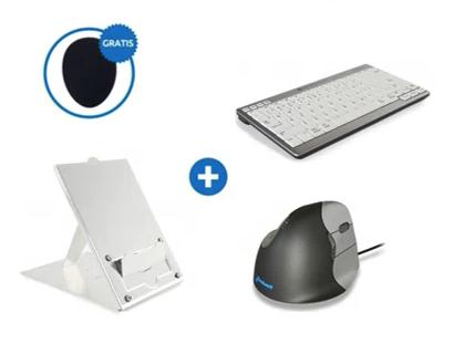 """BakkerElkhuizen ergonomische bundel tablet/laptop gebruikers tot 12"""""""