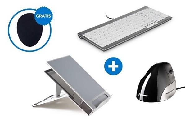 Ergonomische bundel Laptopgebruiker set 2