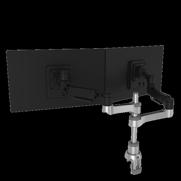 R-Go Caparo 4 D2 dubbele monitorarm (RGOVLCA4TWSI)