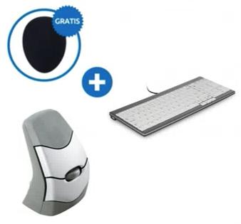 Ergonomische bundel toetsenbord/muis set 1