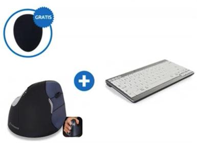 BakkerElkhuizen ergonomische toetsenbord/muis set 2