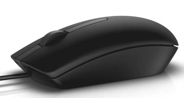 Dell Optical Mouse-MS116 - Black (570-AAIR)